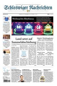 Schleswiger Nachrichten - 23. Dezember 2019