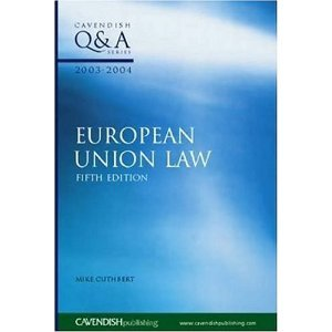 European Union Law Q&A 2003-2004