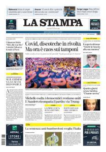 La Stampa Torino Provincia e Canavese - 18 Agosto 2020