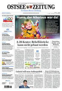 Ostsee Zeitung Wolgast - 06. Dezember 2017