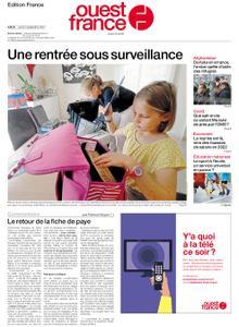 Ouest-France Édition France – 02 septembre 2021