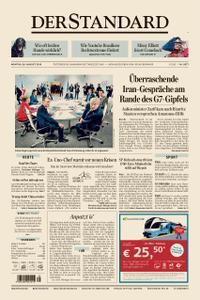 Der Standard – 26. August 2019