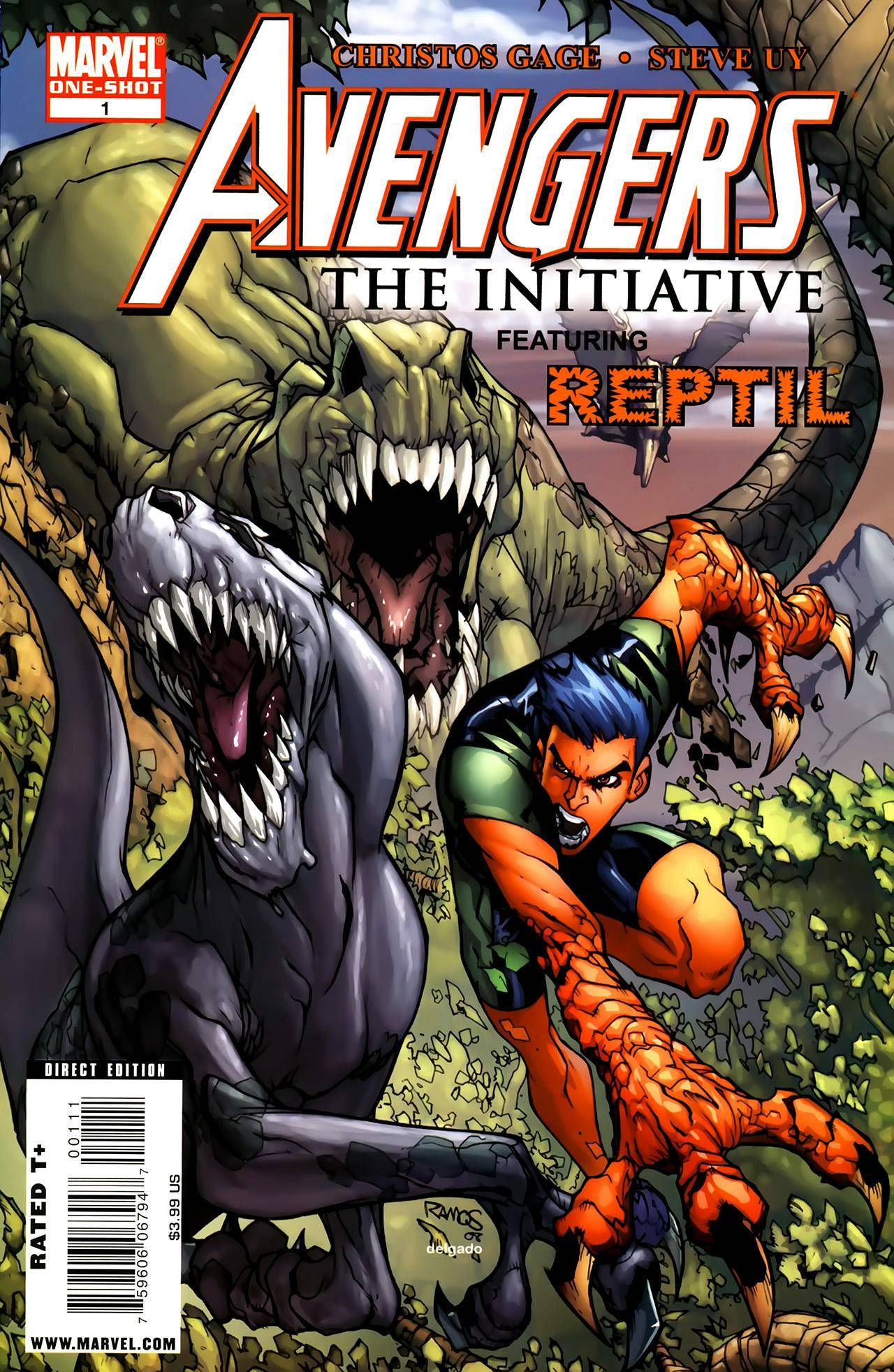 For Whomever - Avengers The Initiative featuring Reptil cbr