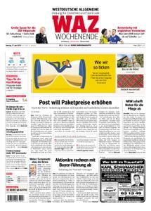 WAZ Westdeutsche Allgemeine Zeitung Oberhausen-Sterkrade - 27. April 2019