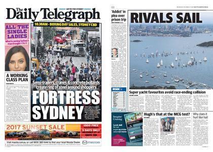 The Daily Telegraph (Sydney) – December 27, 2017