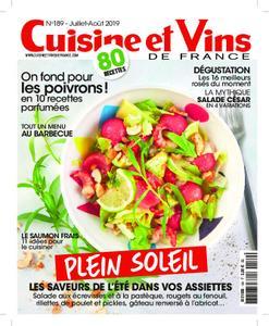 Cuisine et Vins de France – août 2019
