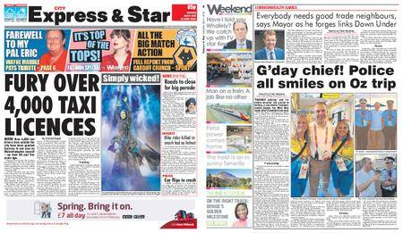 Express and Star City Edition – April 07, 2018