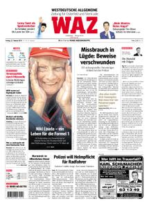 WAZ Westdeutsche Allgemeine Zeitung Oberhausen-Sterkrade - 22. Februar 2019