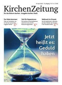 KirchenZeitung für das Bistum Aachen – 19. April 2020
