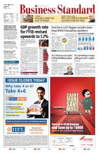 Business Standard - February 1, 2019