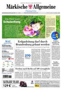 Märkische Allgemeine Fläming Echo - 18. August 2018