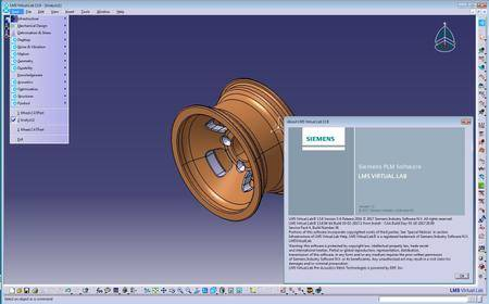 Siemens LMS Virtual.Lab Rev 13.8