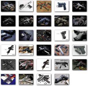 29 HQ Images of Guns - Set 1