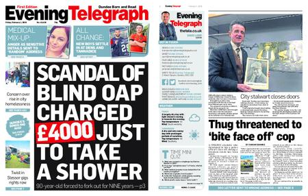 Evening Telegraph First Edition – February 01, 2019