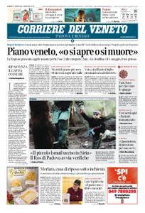 Corriere del Veneto Padova e Rovigo – 17 aprile 2020