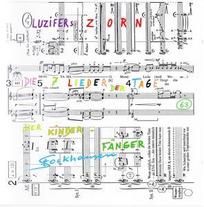 Karlheinz Stockhausen - Luzifers Zorn, Die 7 Lieder der Tage & Der Kinderfänger (2001) {Stockhausen-Verlag No. 63}