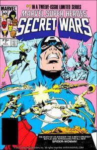 Captain America v1 292h Marvel Super Heroes Secret Wars 07