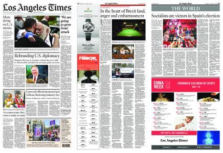 Los Angeles Times – April 29, 2019