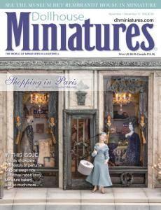 Dollhouse Miniatures - Issue 60 - November-December 2017