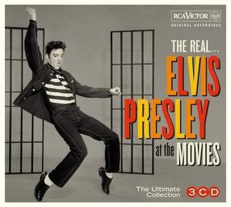 Elvis Presley - The Real ... Elvis Presley At The Movies (3CD, 2018)