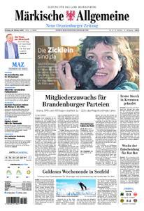 Neue Oranienburger Zeitung - 25. Februar 2019