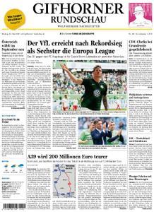 Gifhorner Rundschau - Wolfsburger Nachrichten - 20. Mai 2019