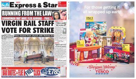 Express and Star City Edition – November 17, 2017