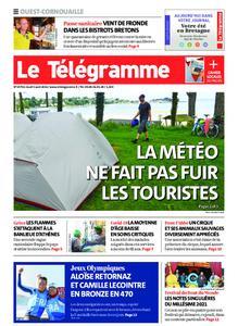 Le Télégramme Ouest Cornouaille – 05 août 2021
