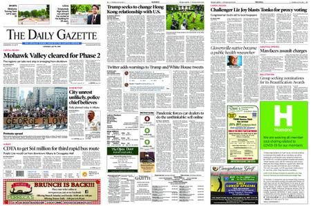 The Daily Gazette – May 30, 2020