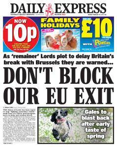 Daily Express - 20 February 2017