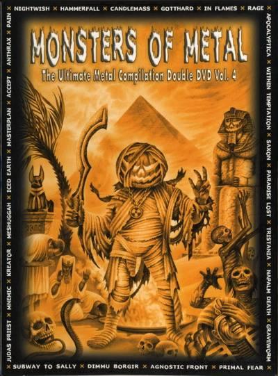 Various Artists - Monsters Of Metal Vol.4 (2005)