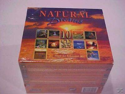 V.A. - Natural Dreams - Music For Relaxation (Box Set 10CD,1999)