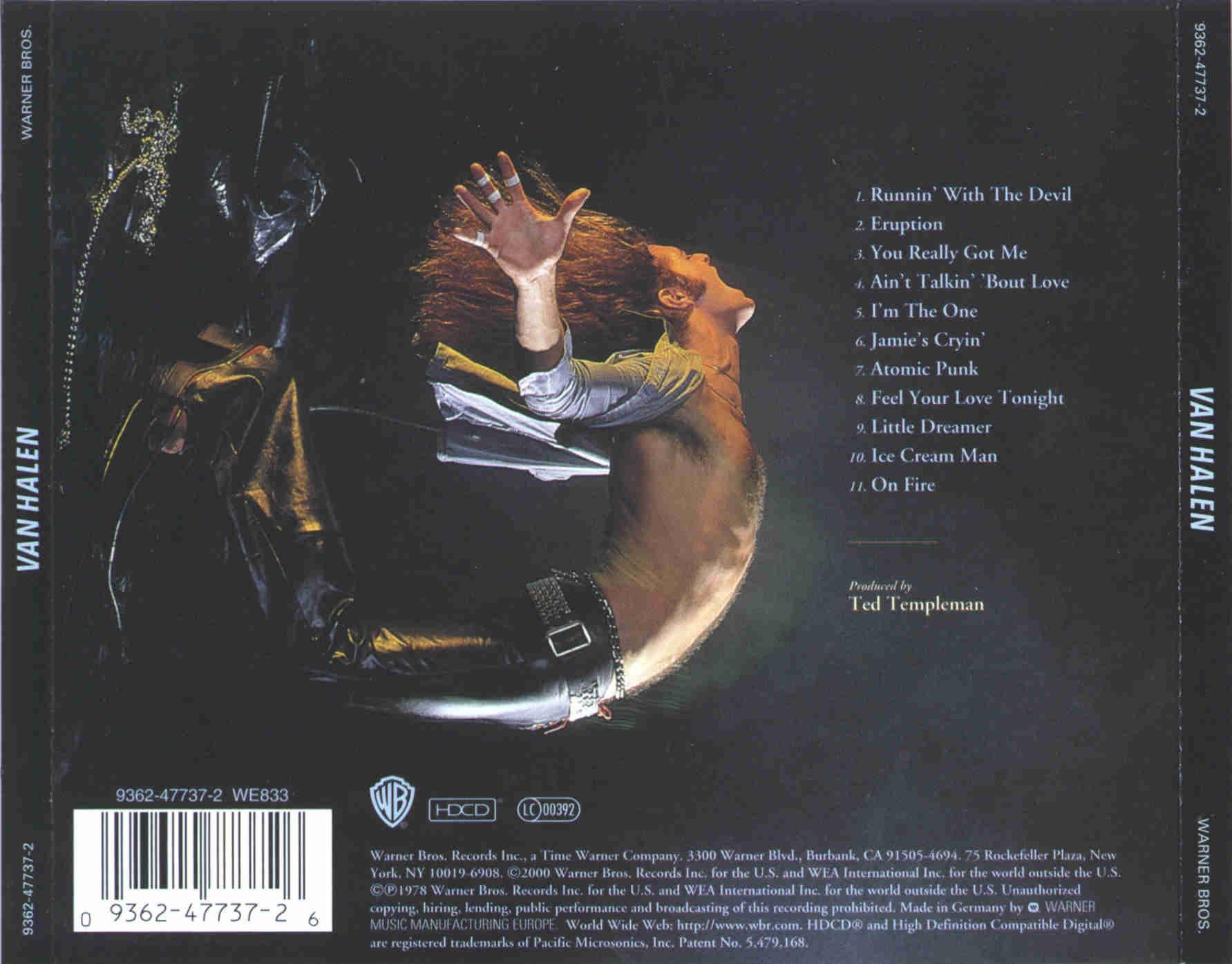 Van Halen - Van Halen  year (1978)