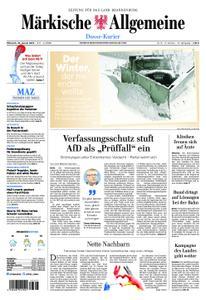 Märkische Allgemeine Dosse Kurier - 16. Januar 2019