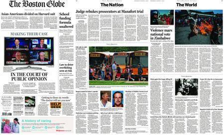 The Boston Globe – August 02, 2018