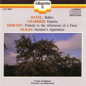 Vienna Symphony - Ravel/Chabrier/Dukas/Debussy (1988) {Allegretto II) **[RE-UP]**