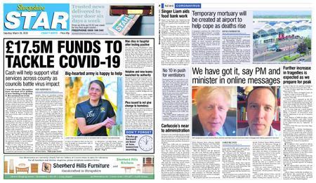 Shropshire Star North County Edition – March 28, 2020