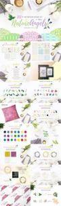CM - 100+ Watercolor Design Kit 876590