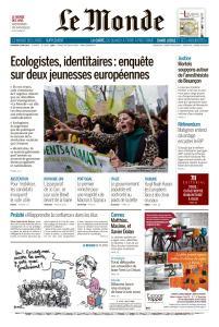 Le Monde du Vendredi 24 Mai 2019