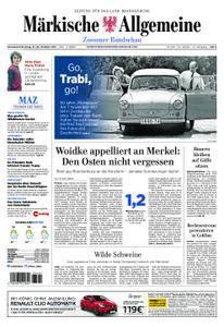 Märkische Allgemeine Zossener Rundschau - 21. Oktober 2017