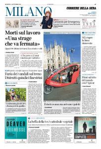 Corriere della Sera Milano – 01 settembre 2019