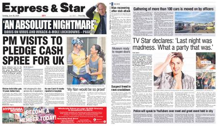 Express and Star City Edition – June 30, 2020