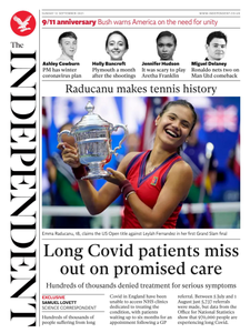The Independent - 12 September 2021