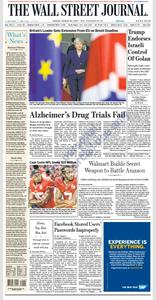 The Wall Street Journal – 22 March 2019