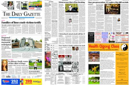 The Daily Gazette – May 03, 2019