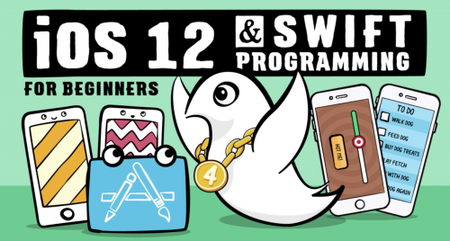 iOS 12 and Swift 4.2 for Beginners: 200+ Hands-On Tutorials (2019)