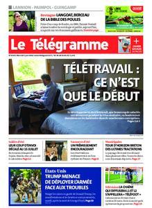 Le Télégramme Guingamp – 03 juin 2020