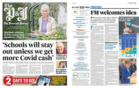 The Press and Journal Moray – June 04, 2020