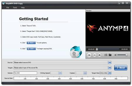 AnyMP4 DVD Copy 3.1.30 Multilingual