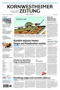 Kornwestheimer Zeitung - 16. April 2018